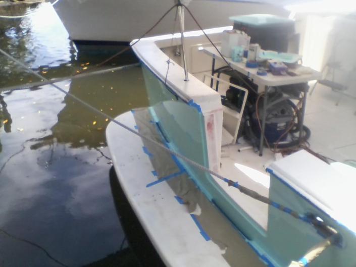 Yacht Redesign Work - Laura Kerbyson